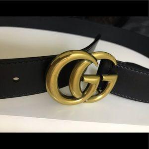 Authentic Gucci Gold Belt